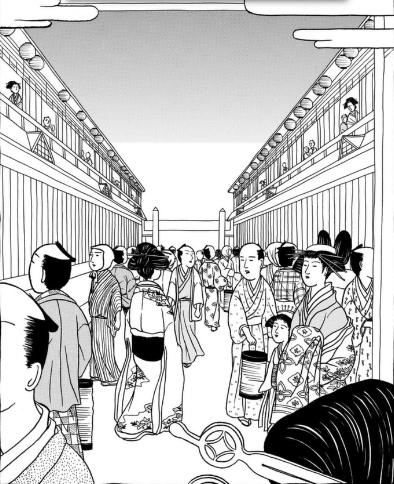 江戸モアゼル1巻は漫画村、星のロミやzipの裏ルートで無料で読めるって ...